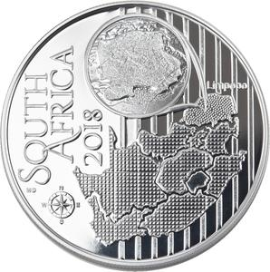 South Africa / Silver Ounce 2018 Sandgrouse - obverse photo