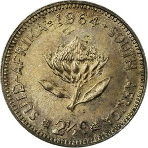 South Africa / Two and a Half Cents - reverse photo