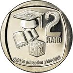 South Africa / Two Rand 2019 Right to Education - reverse photo
