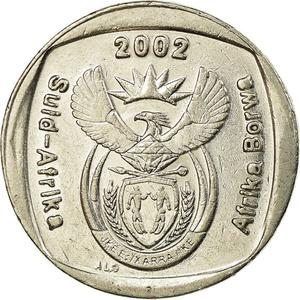 South Africa / One Rand 2002 Johannesburg World Summit - obverse photo