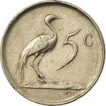 South Africa / Five Cents 1983 - reverse photo