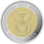 South Africa / Five Rand 2015 Griqua Town - obverse photo