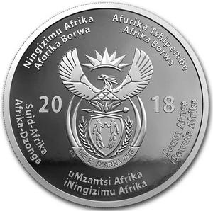 South Africa / Silver Ounce 2018 Nelson Mandela Centenary - obverse photo