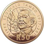 South Africa / Fifty Rand 2017 OR Tambo Centenary - reverse photo