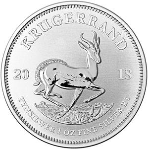South Africa / Silver Ounce 2018 Krugerrand - reverse photo