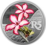 South Africa / Silver Ounce 2019 Impala Lily - reverse photo