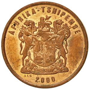 South Africa / Two Cents 2000 (Old CoA) - obverse photo