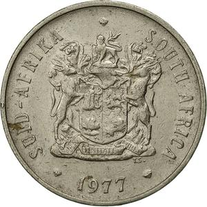 South Africa / Twenty Cents 1977 - obverse photo