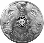 South Africa / Silver Ounce 2019 Big Five - Lion - reverse photo