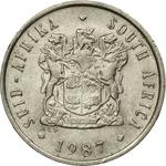 South Africa / Five Cents 1987 - obverse photo