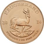 South Africa / Gold Ounce 2016 Krugerrand - reverse photo