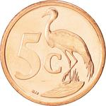 South Africa / Five Cents 2008 - reverse photo