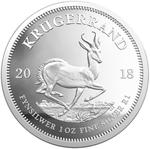 South Africa / Silver Ounce 2018 Krugerrand / Proof - reverse photo