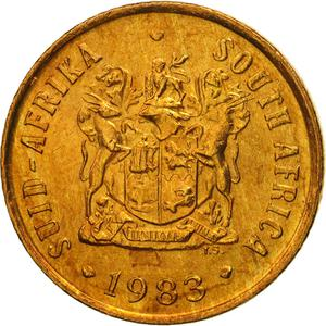South Africa / One Cent 1983 - obverse photo