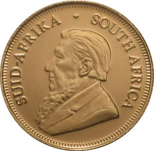South Africa / Gold Tenth-Ounce 2000 Krugerrand - obverse photo