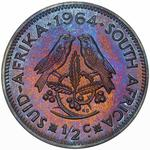 South Africa / Half Cent 1964 / Proof - reverse photo