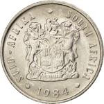 South Africa / Five Cents 1984 - obverse photo
