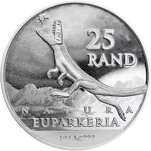 South Africa / Silver Ounce 2019 Rise of the Dinosaurs - reverse photo