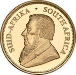 South Africa / Gold Quarter Ounce 2017 Krugerrand - obverse photo