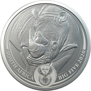 South Africa / Silver Ounce (1 oz) - obverse photo