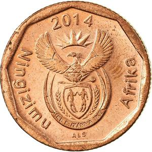 South Africa / Ten Cents 2014 - obverse photo