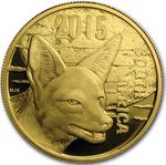 South Africa / Gold Half Ounce 2015 Jackal - obverse photo