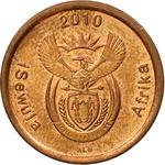 South Africa / Five Cents 2010 - obverse photo