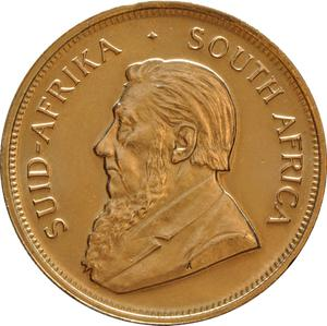 South Africa / Gold Ounce 2008 Krugerrand - obverse photo