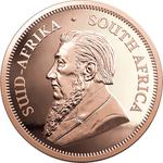 South Africa / Gold Quarter Ounce 2020 Krugerrand - obverse photo