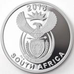 South Africa / Silver Two Ounces 2016 Octopus - obverse photo