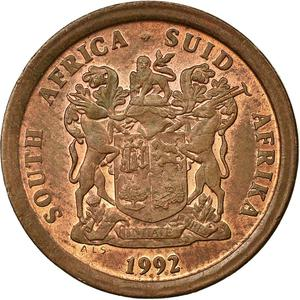 South Africa / Five Cents 1992 - obverse photo