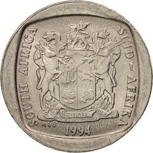 South Africa / One Rand 1994 - obverse photo