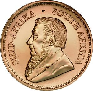 South Africa / Gold Ounce 2018 Krugerrand - obverse photo