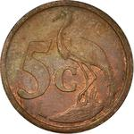 South Africa / Five Cents 2004 - reverse photo
