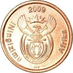 South Africa / Five Cents 2009 - obverse photo