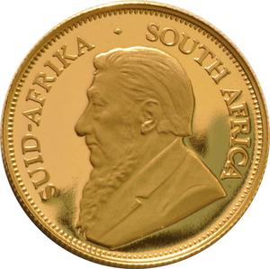 South Africa / Gold Half Ounce 2001 Krugerrand - obverse photo
