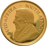 South Africa / Gold Half Ounce 2001 Krugerrand / Proof - obverse photo