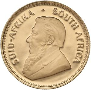 South Africa / Gold Quarter Ounce 2010 Krugerrand - obverse photo