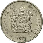 South Africa / Five Cents 1971 - obverse photo