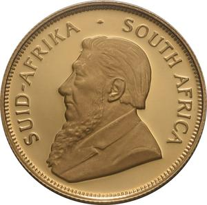 South Africa / Gold Half Ounce 1999 Krugerrand - obverse photo