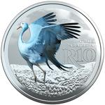 South Africa / Silver Ounce 2017 Blue Crane - reverse photo