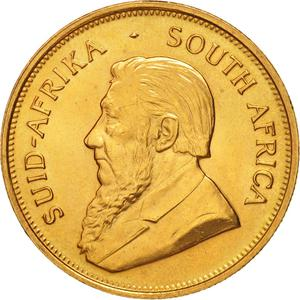 South Africa / Gold Ounce 1974 Krugerrand - obverse photo