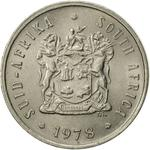 South Africa / Five Cents 1978 - obverse photo
