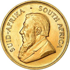 South Africa / Gold Ounce 1973 Krugerrand - obverse photo