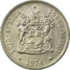 South Africa / Twenty Cents 1974 - obverse photo