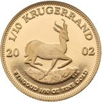South Africa / Gold Tenth-Ounce 2002 Krugerrand / Proof - reverse photo
