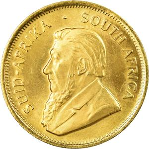 South Africa / Gold Quarter Ounce 1982 Krugerrand - obverse photo