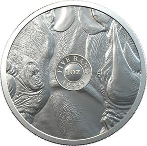 South Africa / Silver Ounce (1 oz) - reverse photo