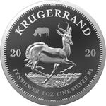 South Africa / Silver Ounce 2020 Krugerrand - reverse photo