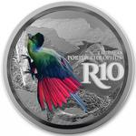South Africa / Silver Ounce 2019 Turaco - reverse photo